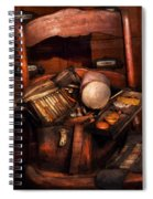 Doctor - Inside A Doctors Bag Spiral Notebook