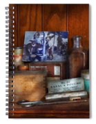 Doctor - My Cluttered Space Spiral Notebook