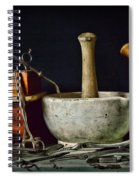 Doctor All Those Medical Instruments Spiral Notebook