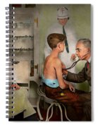 Doctor - At The Pediatricians Office 1925 Spiral Notebook