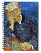 Doctor Paul Gachet Spiral Notebook