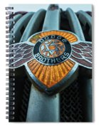 Dodge Brothers Emblem Jerome Az Spiral Notebook