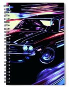 Dodge Challenger Rt 1970 Spiral Notebook