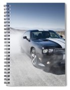 Dodge Challenger Srt8 Spiral Notebook