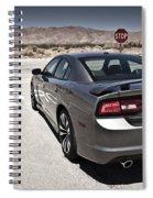 Dodge Charger Srt8 Spiral Notebook