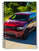 Dodge Durango Srt 2018 Spiral Notebook