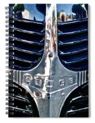 Dodge Hearse Spiral Notebook