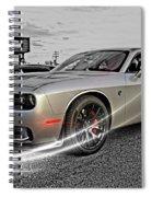 Dodge Hellcat Spiral Notebook