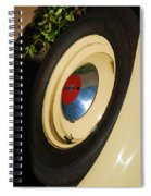 Dodge Tire Spiral Notebook