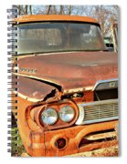 Dodged Spiral Notebook