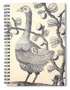 Dodo Bird Rodriguez Solitaire, Extinct Spiral Notebook