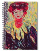 Dodo Or Isabella With A Ruffed Collar Spiral Notebook