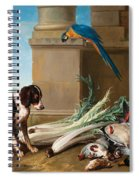 Dog Guarding A Hunting Trophy Spiral Notebook