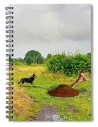 Dog Heaven - Abbie's Edit Challenge 3 Spiral Notebook