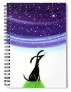 Dog Star  Spiral Notebook