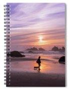 Dog Walker Spiral Notebook