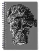 Dog With Attitude Spiral Notebook