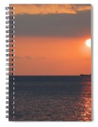 Dogashima Sunset Spiral Notebook
