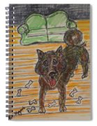 Doggy Snack Time Spiral Notebook