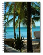 Dog's Beach Key West Fl Spiral Notebook