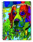 Dogs Can See In Color Spiral Notebook
