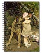 Dog's Company Spiral Notebook