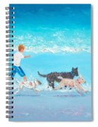 Dogs Day Out Spiral Notebook