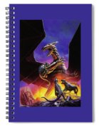 dogs of the future Keith Parkinson Spiral Notebook