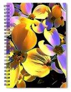 Dogwood Blossoms Spiral Notebook