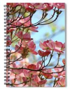 Dogwood Flowering Trees Pink Dogwood Flowers Baslee Troutman Spiral Notebook