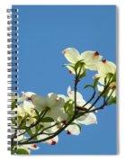 Dogwood Flowers Art Prints White Flowering Dogwood Tree Baslee Troutman Spiral Notebook