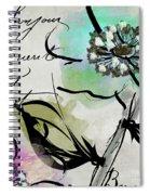 Dogwood I Spiral Notebook