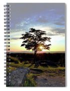 Dogwood On Little Round Top Spiral Notebook