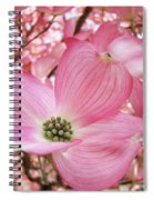 Dogwood Tree 1 Pink Dogwood Flowers Artwork Art Prints Canvas Framed Cards Spiral Notebook