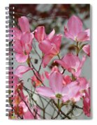 Dogwood Trees Flower Blossoms Art Baslee Troutman Spiral Notebook