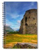 Dolbadarn Castle  Spiral Notebook