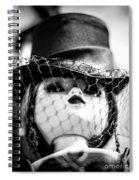 Doll 61 High Society Spiral Notebook