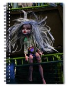 Doll X2 Spiral Notebook