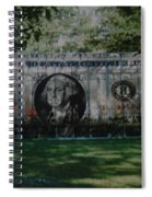 Dollar Bill Spiral Notebook