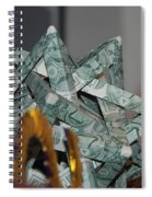 Dollar Origami Spiral Notebook
