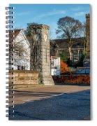 Dollar Town In Scotland Spiral Notebook
