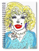 Dolly Spiral Notebook
