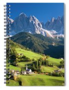 Dolomites, Italy #3 Spiral Notebook