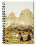 Dolomites, Italy Spiral Notebook