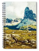 Dolomites, Monte Piana, Italy Spiral Notebook