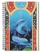 Dolphin Mecca Spiral Notebook