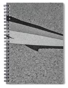 Dolphinfish In Grayscale Spiral Notebook