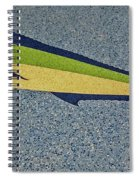 Dolphinfish Inlay On Alabama Welcome Center Floor Spiral Notebook