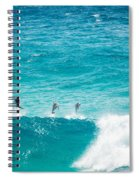 Dolphins Jumping Spiral Notebook