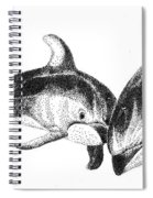 Dolphins Togeter Spiral Notebook